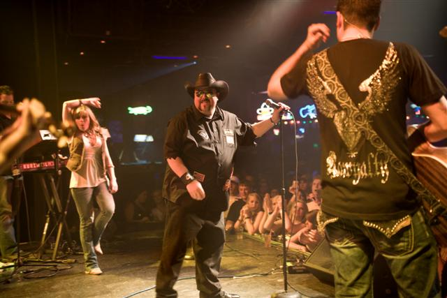 on Stage With Colt Ford The