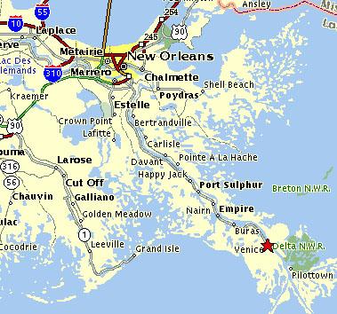 Southern Louisiana Map.Southern Louisiana Map Bnhspine Com