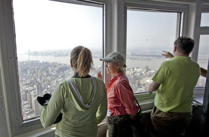 Every miles a memory for 102nd floor of the empire state building